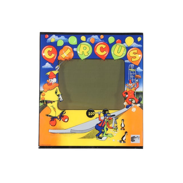 Image of R&n Circus Pinball Backglass
