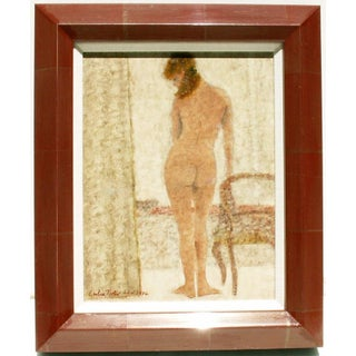 Porter 1974 Standing Nude Painting