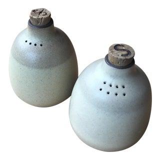 Vintage Heath Salt & Pepper Shakers - Set of 2