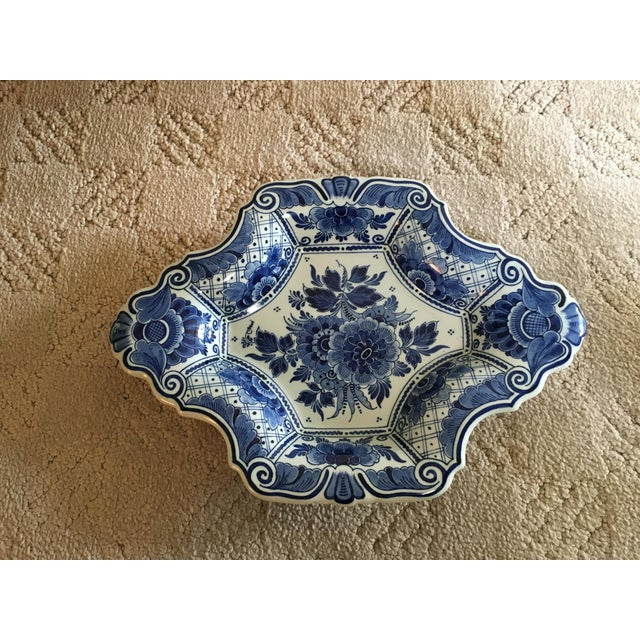 Delft Diamond Shaped Bowl - Image 3 of 6