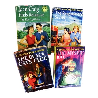 Nancy Drew, Jean Craig, Judy Bolton Books - Set of 4
