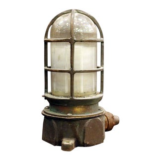 Cast Bronze Oceanic Ship Light