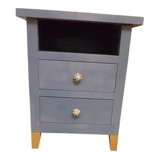 Crate and Barrel Painted Nightstand