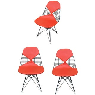 Herman Miller Eames DKR Bikini Chairs- Set of 3
