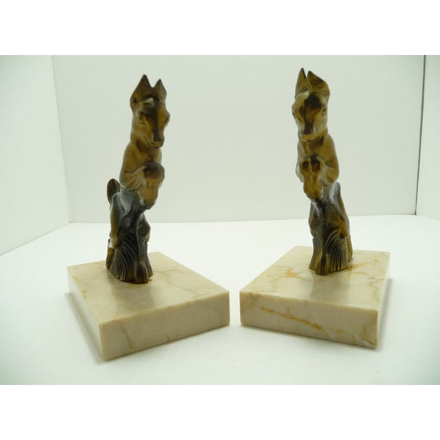 Baby Goats French Art Deco Bookends - A Pair - Image 4 of 7