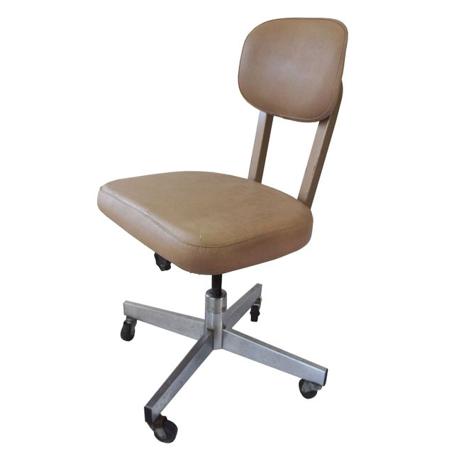allsteel office swivel chair chairish