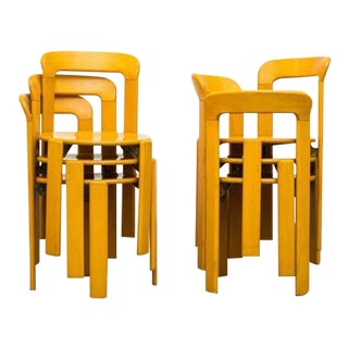 Rey Chairs by Bruno Rey for Dietiker - Set of 6