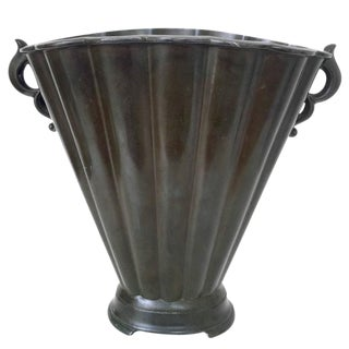 Just Andersen Fluted Disko Metal Vase