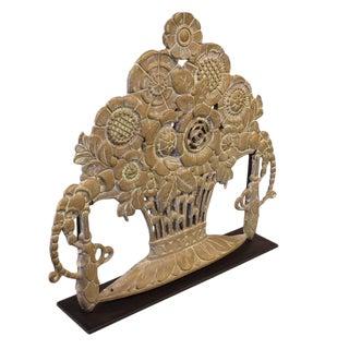 Bronze Ornament on Custom Mount