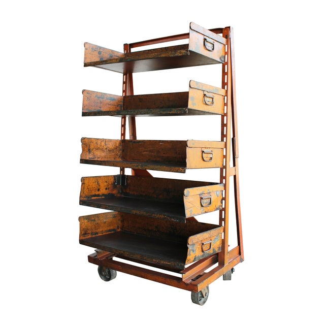 A-Frame Machinist Cart - Image 2 of 3