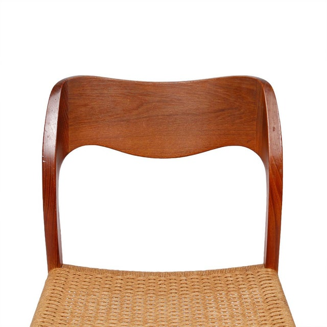 Danish Teak Niels Moller Dining Chairs Set Of 6 Chairish