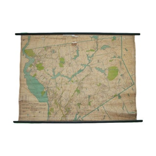 Vintage Northern Westchester Property Owner Map