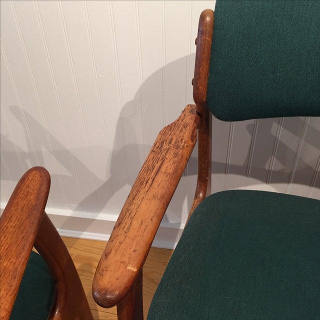Danish Modern Erik Buch Chairs - Set of Two - Image 6 of 11