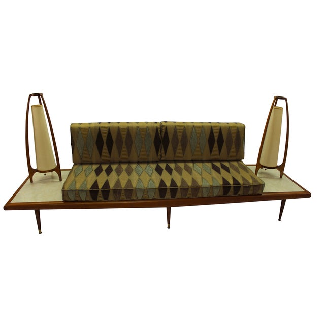Mid Century Modern Adrian Pearsall Floating Sofa - Image 3 of 9