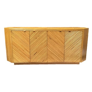 Reeded Bamboo Sideboard