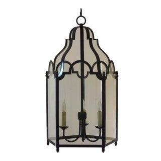 20th Century Antique Large Metal Lantern