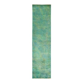 """Vibrance Hand Knotted Runner Rug - 2' 6"""" X 9' 10"""""""