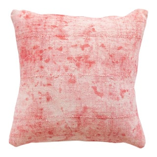 Pink Mud Cloth Pillow