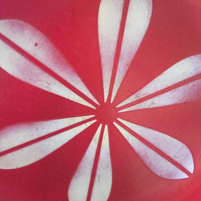 Catheineholm Red Lotus Plate - Image 3 of 5