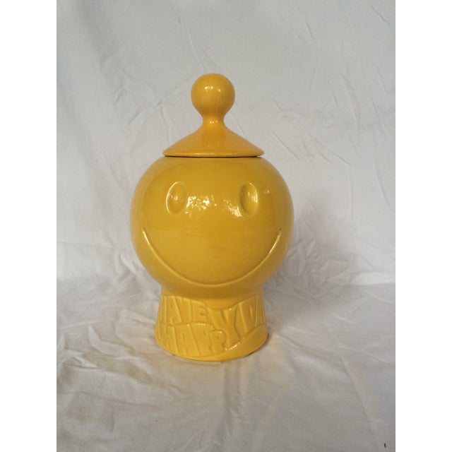 Image of Smiley Face McCoy Lidded Container