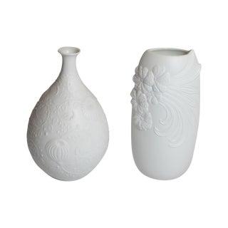 Vintage Kaiser Porcelain Co. Vases - Pair