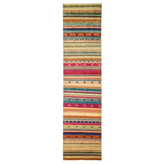 "Lori, Hand Knotted Runner - 2'6"" X 10'"