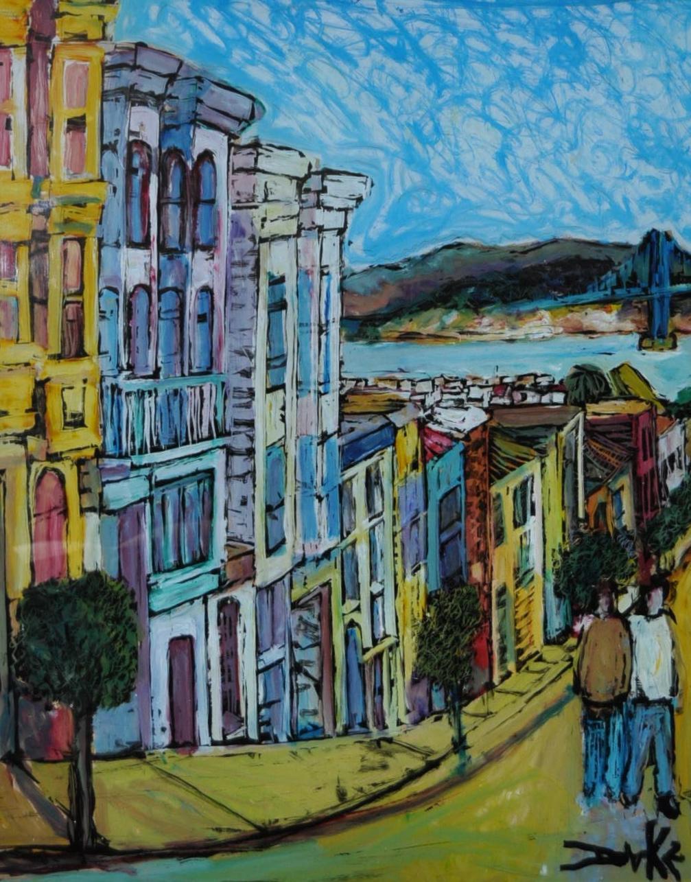 San Francisco Window Painting By Duke   Image 4 Of 7