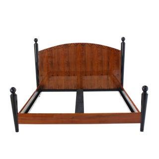 King-Size Headboard Footboard Bed