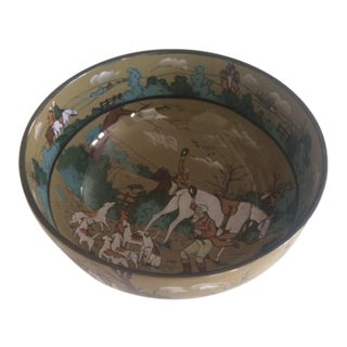 Vintage 1908 Deldare Hunting Bowl
