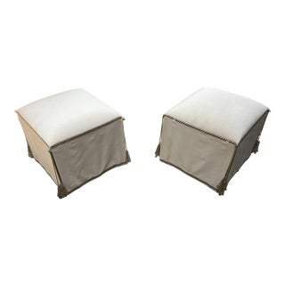 Marge Carson Justina Pouf - A Pair