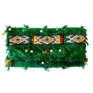 Vintage Handmade Moroccan Kilim Clutch
