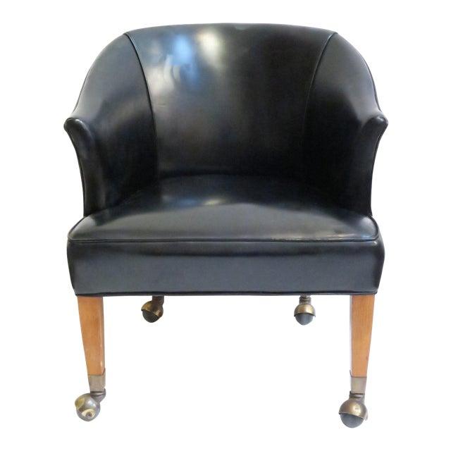 Vintage Black Armchair - Image 1 of 6