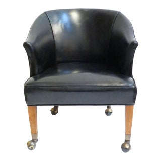 Vintage Black Armchair