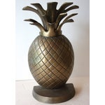 Image of Etched Brass Pineapple