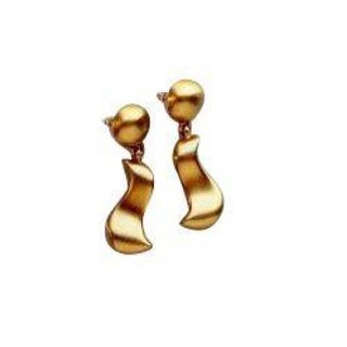 Anne Klein 80s Gold Earrings