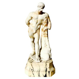 Statue of Hercules in Alabaster