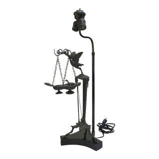 William (Billy) Haines Converted Antique Bronze Italian Lamp