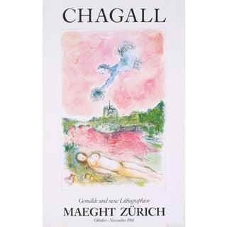 Marc Chagall 'Pink Opera-Opera Rose' Poster