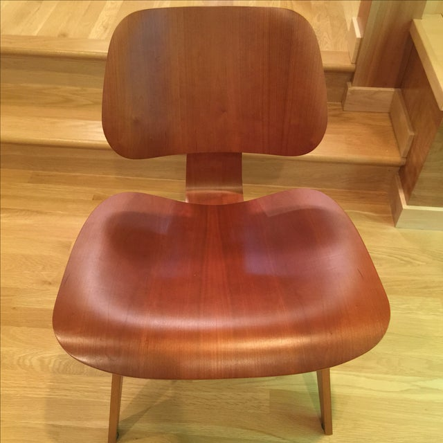 Eames Cherry Plywood Lounge Chair - Image 2 of 9