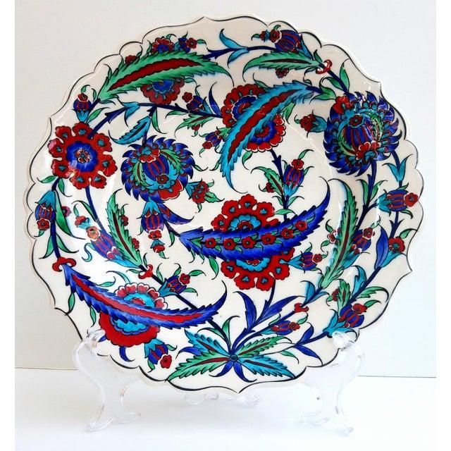 Fine Brush İznik Plate - Image 2 of 6