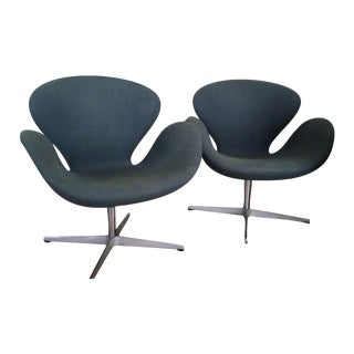 Fritz Hansen Swan Chairs - A Pair