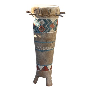 Batonka Drum From Zimbabwe