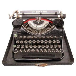 Vintage Antique Underwood Universal Typewriter