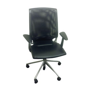 Leather & Mesh Vitra Meda Chair