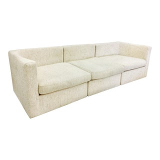 Vintage Mid-Century Modern Milo Baughman Sofa