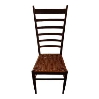 Rush Seat Ladderback Chair