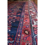 Image of Semi-Antique Persian Malayer Runner - 4′2″ × 9′2″