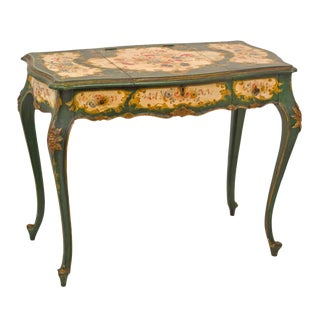Venetian Painted Desk or Dressing Table