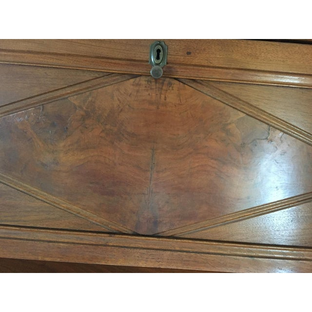 Antique Fall Front Secretary Desk - Image 6 of 6
