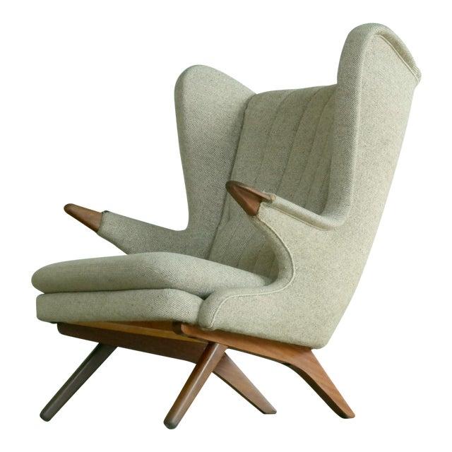 Sven Skipper 1960s Papa Bear Chair Model 91 in the Style of Hans Wegner - Image 1 of 11
